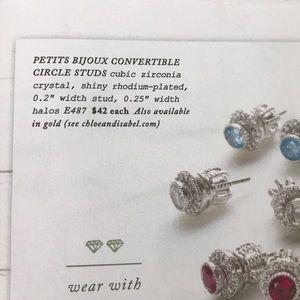 Chloe + Isabel Jewelry - 💌 Petite Bijoux Convertible Circle Studs-Sept